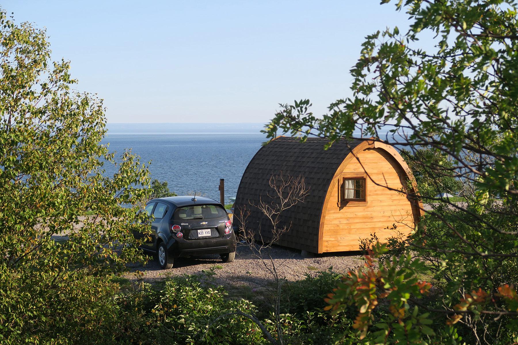Camp rustique (POD)